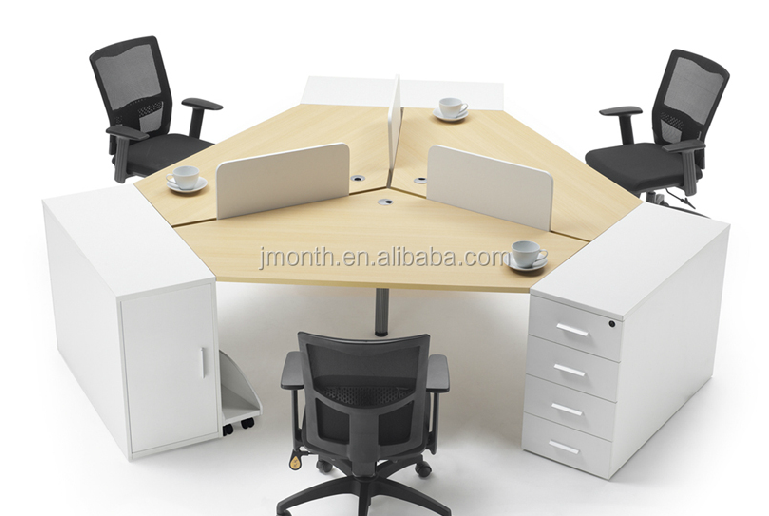 2015 Commercial Furniture office cubicles for 3 person aluminum profiles