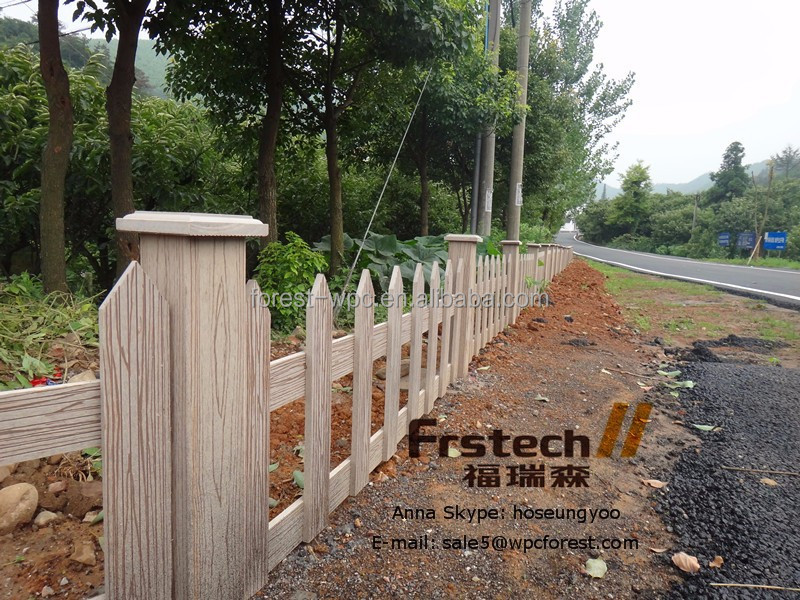 Frstech cercas para terrazas balc n valla wpc madera for Valla plastico jardin
