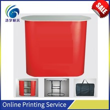 Good sold sample demo table stand ABS promotion counter