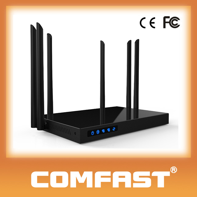 COMFAST 1750Mbps Wireless AC Router High Power 500mW(27dBm)Wifi Advertising Router