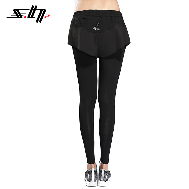 2018 Breathable slim fit yoga women workout leggings