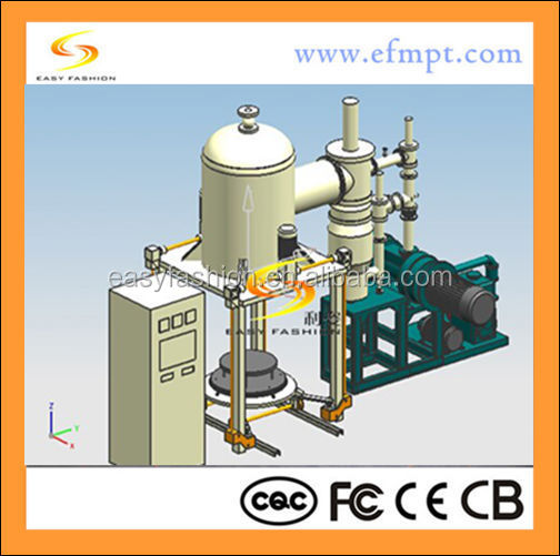 high temperature furnace insulation material /vertical type /large vacuum furnace