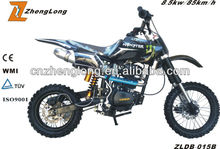 new design 150cc 2 stroke super dirt bike