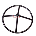 pipe spokes welding handwheel 20''(25 through-hole) for valves Round hole hand wheel factory