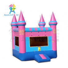 pink bounce castle inflatable princess castle used party inflatable moonwalk jumpers for sales for kids