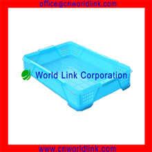 Food Grade Storage Plastic Stacking Tray for Bread