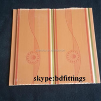 light weight pvc panel for ceiling and wall plastic building materials