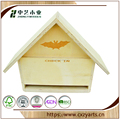 China Supplier Pretty Decorative Cute Wooden Bird House
