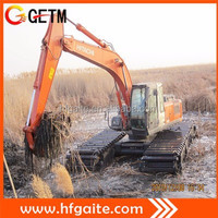 Equipped Japanese excavator heavy construction machinery swamp excavator