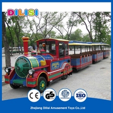 China Factory Outdoor Electric Trackless Park Tourist Train