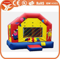 2017 residential inflatable bouncers for toddlers