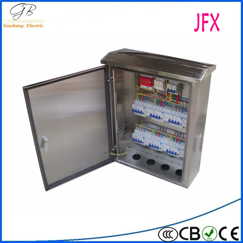 stainless steel IP65 outdoor electric control box