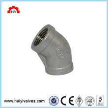 45 degree stainless steel female thread elbow