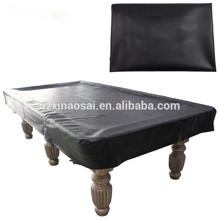 Pvc Leather Snooker Table Cover Pool Billiards Accessories For Sale