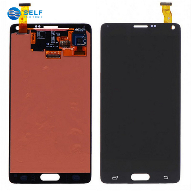 China supplier mobile phone lcd touch screen digitizer for samsung galaxy note 4