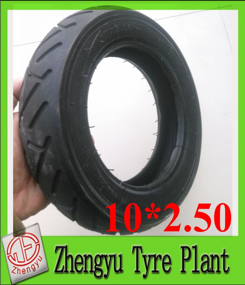 Manufacturer Cheap 10*2.5 250mm Solid Rubber Wheel Solid Tire