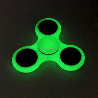 Fancy design hand finger fidget spinner with glow in the dark spinner toys