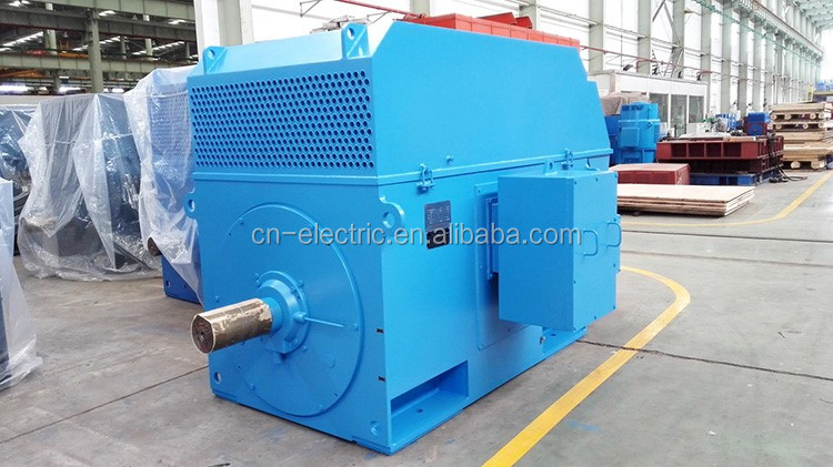 high voltage three phase slip ring wound rotor induction motor