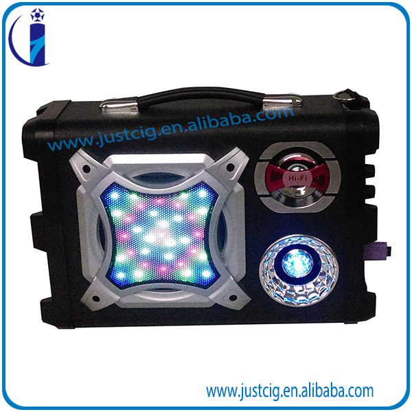 9V 40W bluetooth wireless backpack 10 inch woofer speaker price with FM Radio UK-02