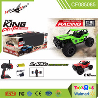 new product 1:16 scale 2.4GHz high speed die cast remote control battery racing vehicle