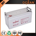 Recyclability best quality best price 12V 120ah deep cycle solar battery