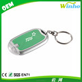 Winho Oval Shape Multi-Colors Gadget Mini LED Keychain