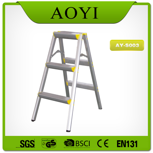 AY-S002 aluminum telescopic compact design industrial stool