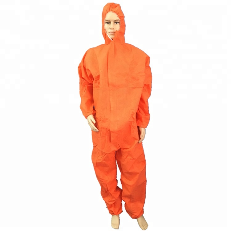 Disposable nonwoven personal protective clothing/coverall/PPE