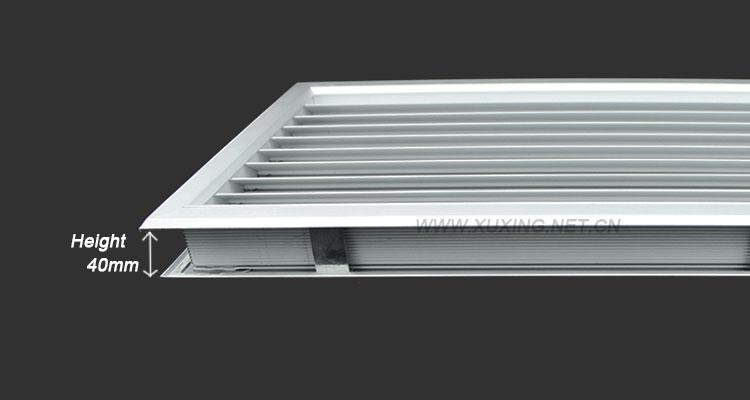 Wood Door Vent Grille : Anodized aluminum return air grille wood vent for doors