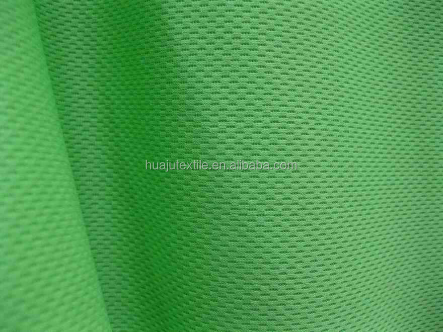 Polish Mesh Yarn Dyed Polyester Jersey Fabric For Ball Gown