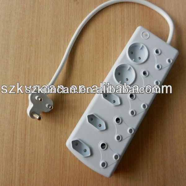 250V 16A South African Type electronics socket plug remote control socket