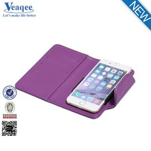 Veaqee flip leather case mobile phone cover for iphone