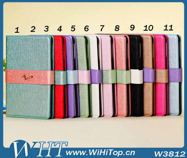 Brand Design Case Leather Flip Case Mix Match Cover Skin For iPad Mini Brand Leather Stand Case