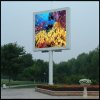 TV video led display outdoor advertising equipment p8 p12 p16 p10, hot digital advertising led displays tv led matrix display