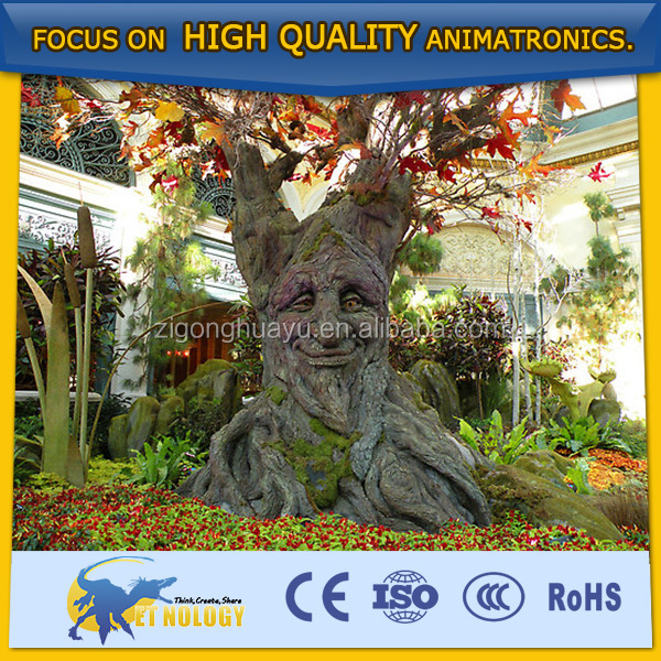 Cetnology newest animatronic artificial talking tree for theme park
