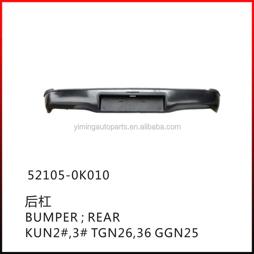 52105-0K010 Rear bumper for toyota hilux