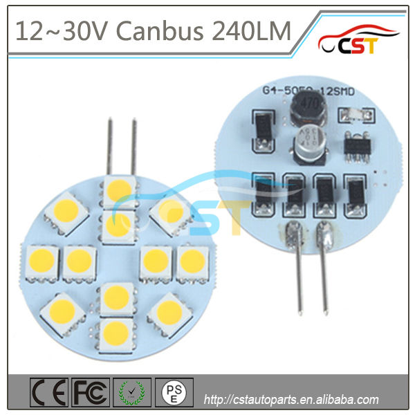 CST G4 Led LIGHT,G4 LED WHITE,G4 WARM WHITE LED Dome Light