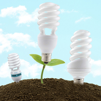 High quality 40w E27 Energy Saving Lighting half spiral full spiral CFL bulb/Compact Fluorescent Lamp