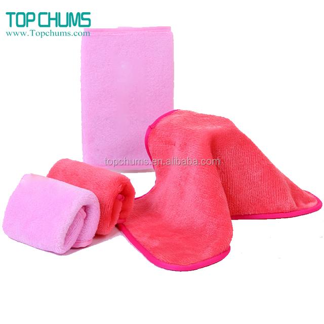 Custom kinds of shape make-up makeup remover towel