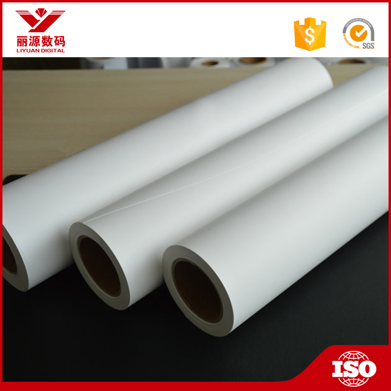Waterproof Self Adhesive Matte PP Paper/ PP Paper Decorative Film for Posters and Display Equipment