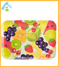 Colorful fruits design Serving Melamine Tray in 2017