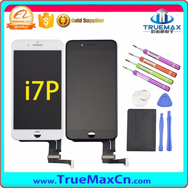12 Months Warranty Screen Display for iPhone7 Plus, LCD Assembly for iPhone7 Plus, LCD With Digitizer for iPhone7 Plus