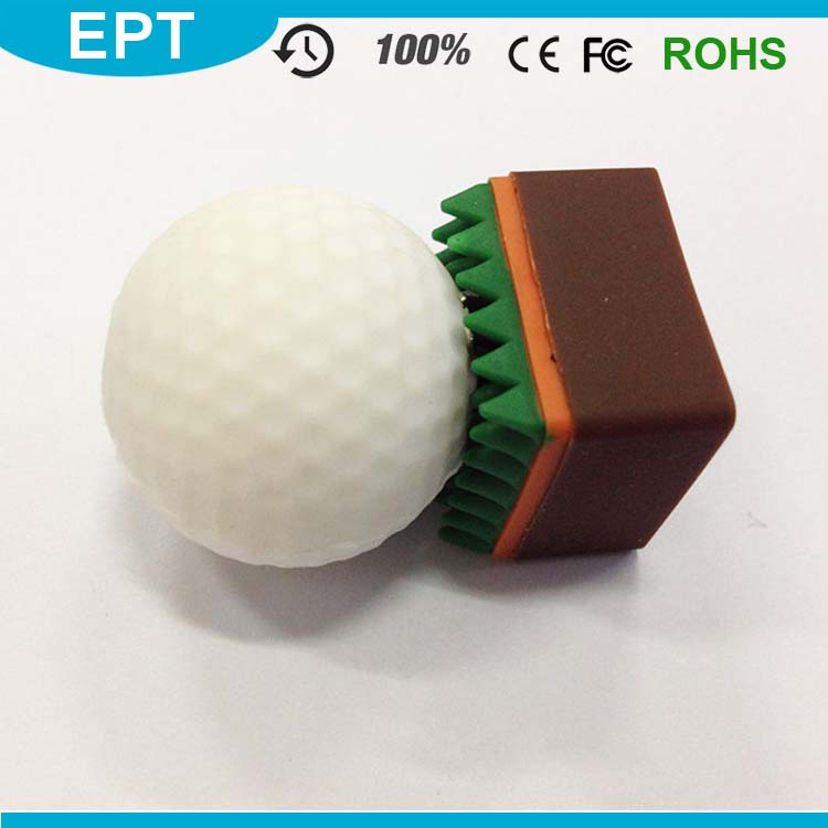 Personalized Envelope Golf Ball Shape USB Flash Drive for Gift