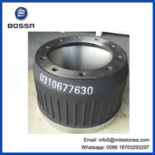 0310677630 semi-trailer brake drum for bpw