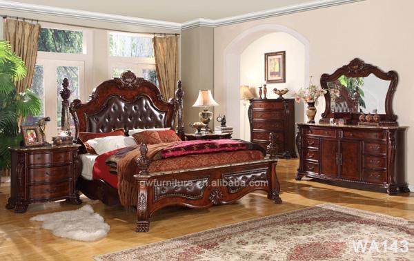 Top Quality Wood Antique Bedroom Furniture Set Royal Bedroom Furniture Set Wa143 Buy Bedroom