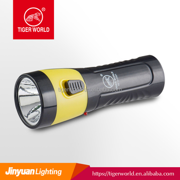 High power 3 led rechargeable flash light/torch