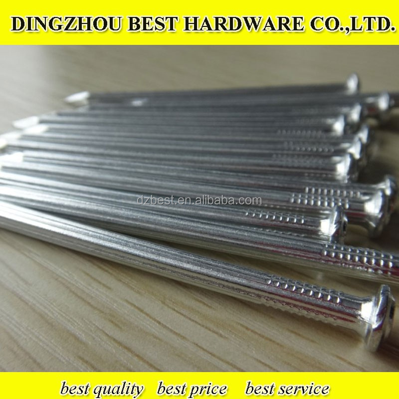 galvanized fluted spiral concrete steel nail