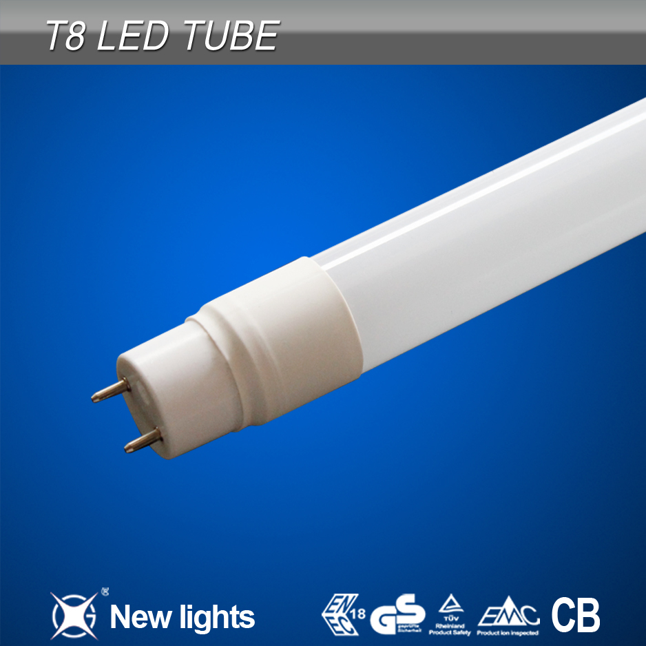 Fashinoable with CE RoHS CB certificated 4ft led tube light fixture