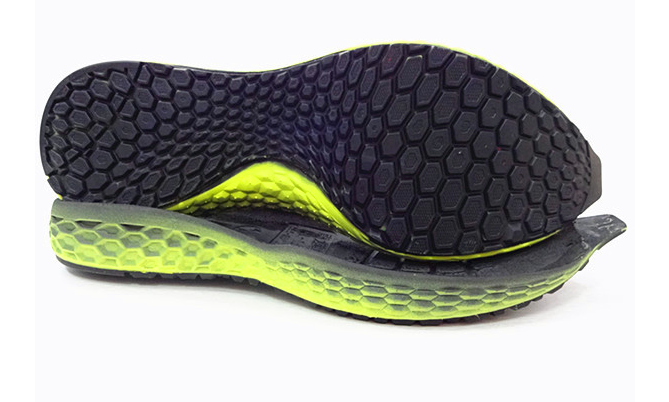 Flexible Basketball Rubber Outsole For Sport Shoes