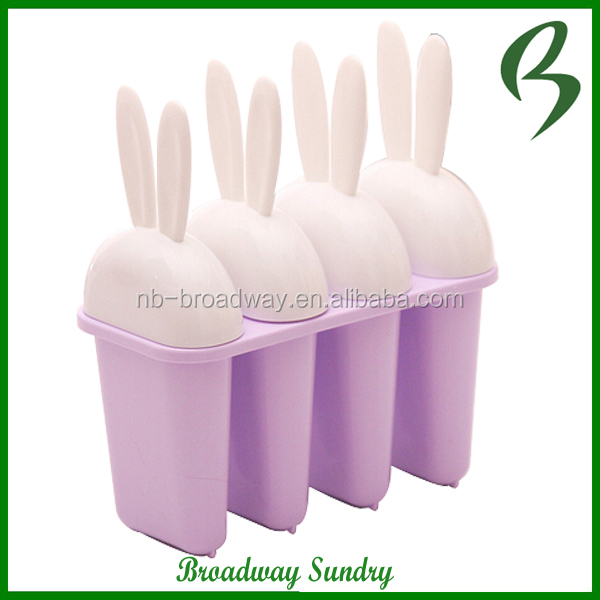 FDA& LFGB China Amazon hot cheap plastic Stick Ice Cream Maker Mold, Ice Cube Mold, Ice Cream Sticks Mold